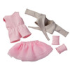 """HABA Ballet Dream 5 Piece Outfit for 12"""" HABA Soft Dolls"""