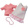 "HABA Summer Dream 3 Piece Outfit for 12"" HABA Soft Dolls"