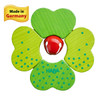 Shamrock Wooden Baby Rattle with Bell view5