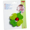 Shamrock Wooden Baby Rattle with Bell view4