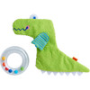 Crocodile Rattle with Removable Teething Ring