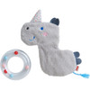 Rhino Rattle with Removable Teething Ring
