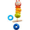 HABA Threading Game Caterpillar (Made in Germany)