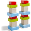 Four by Four 3D Arranging Game Wooden Building Blocks