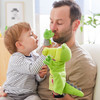 Glove Puppet Crocodile With Baby Hatchling Finger Puppet view4