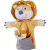 Glove Puppet Lion With Baby Cub Finger Puppet