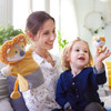 Glove Puppet Lion With Baby Cub Finger Puppet view3