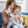 Glove Puppet Rhino With Baby Calf Finger Puppet view3
