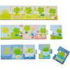 HABA Sequencing Puzzle and Matching Game Mr. Froggy's Day