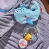 Marine World Fabric Rattle with Removable Teether Ring view5
