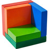 3D Rainbow Cube Arranging Game view7
