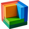 3D Rainbow Cube Arranging Game view8
