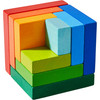 3D Rainbow Cube Arranging Game view9