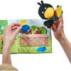 Orchard Fabric Baby Book with Raven Finger Puppet view3