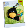 Orchard Fabric Baby Book with Raven Finger Puppet view8