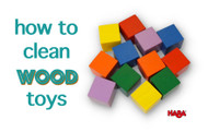 Safely Cleaning Wooden Toys During the Pandemic
