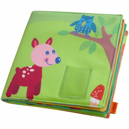 "HABA Baby's First Photo Album Friends of the Enchanted Forest - Holds 8 4"" x 6"" Photos"