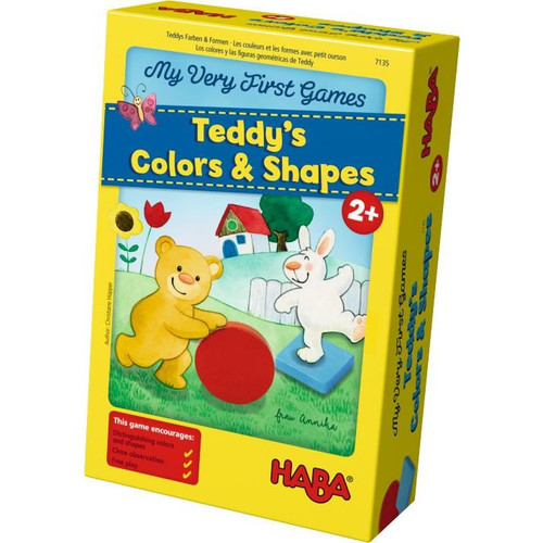 HABA My Very First Games - Teddy's Colors and Shapes (Made in Germany)