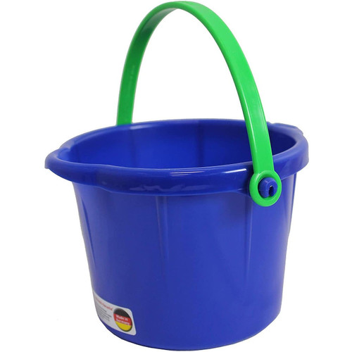 Spielstabil Small Sand Pail - 1.5 Liter - Sold Individually - Colors Vary (Made in Germany)