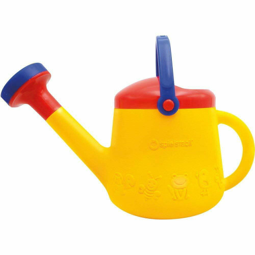 Spielstabil Classic Yellow Children's Watering Can - for Ages 18 Months and Up - Holds 1 Liter (Made in Germany)