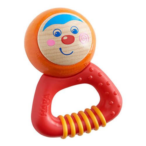 HABA Musical Character Mio - Rattle, Clutching Toy and Teether