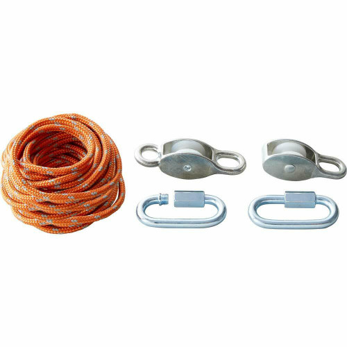 HABA Terra Kids Block and Tackle Rope and Pulley System
