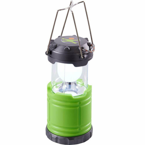 HABA Terra Kids Camping Lantern with Sturdy Handles for Carrying & Hanging and Handy Storage Compartment