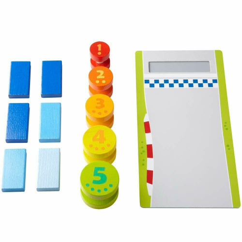HABA Motor Skill Game High-Speed Roller Race - Simple Experiments with Momentum (Made in Germany)