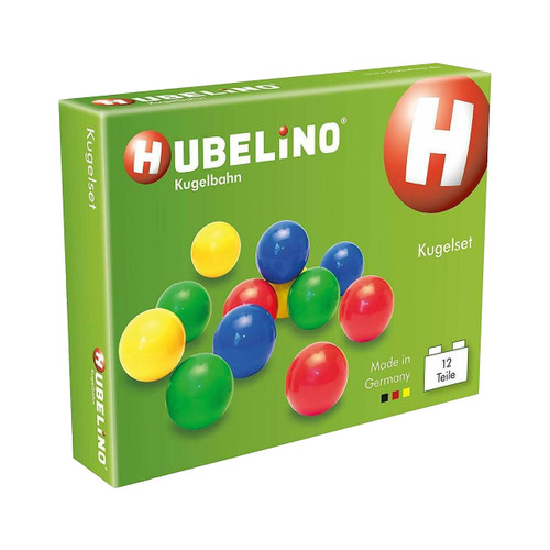 Hubelino Marble Run - Set of 12 Marbles - Made in Germany