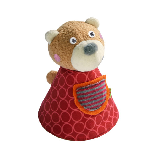 HABA Soft Plush Clutching Toy Beke The Bear