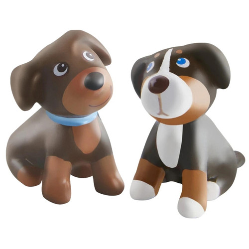 Brown and Tricolor Puppies