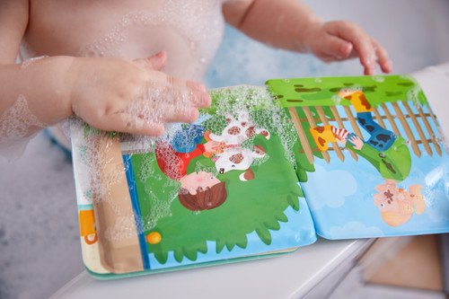Wash Away Bath Book - Paul and Pia