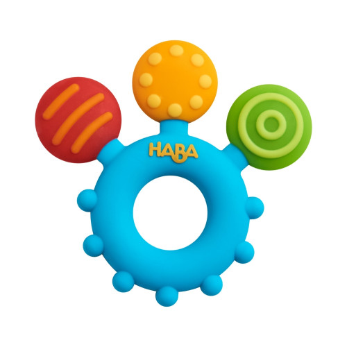 Clutching Toy Color Play Silicone Teether