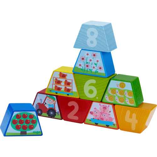 HABA Numbers Farm Arranging Game