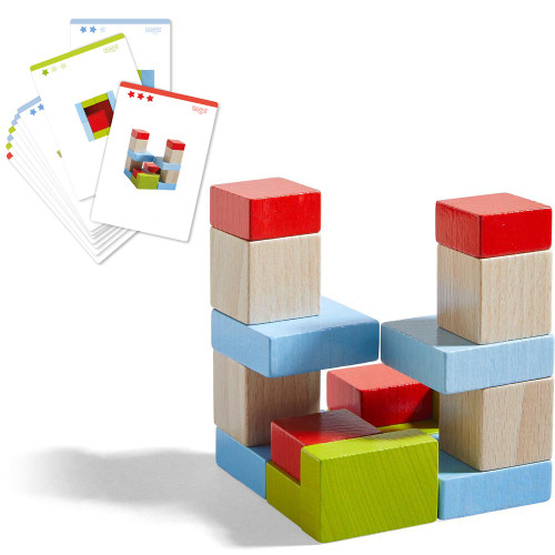 HABA Four by Four Wooden Building Blocks (Made in Germany)