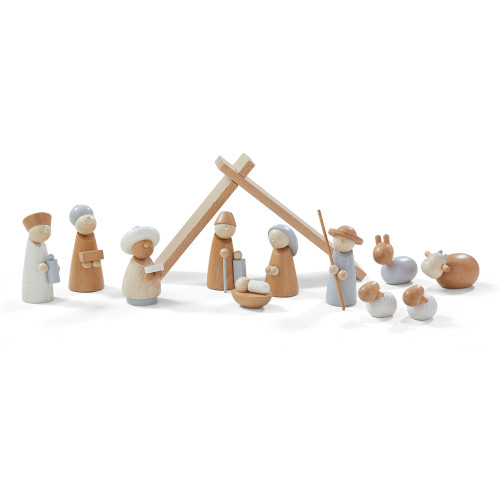 HABA Nativity Scene 12-Piece Set (Made in Germany)