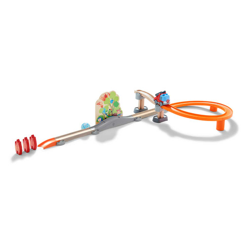 HABA Kullerbu Fire Alarm Ball Track Set with Sound