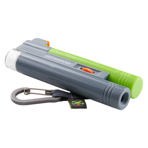 HABA Terra Kids Microcsope - Pocket Size with Carabiner and 30x Magnification