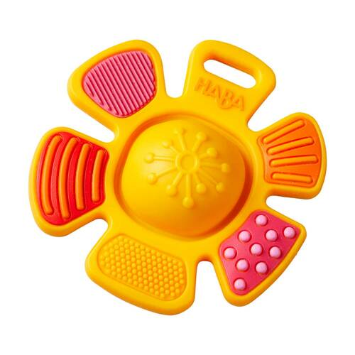 HABA Popping Flower Silicone Teething & Clutching Toy