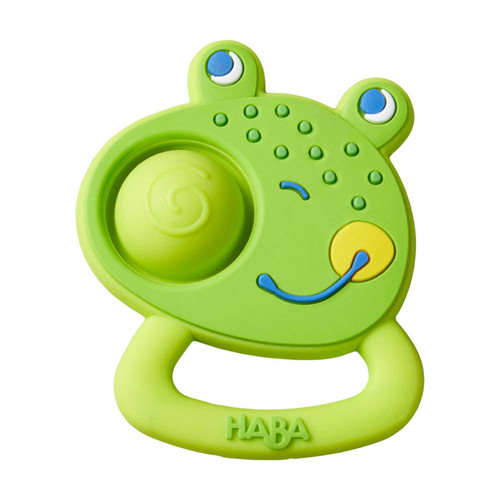 HABA Popping Frog Silicone Teething & Clutching Toy