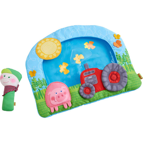 HABA On the Farm Tummy Time Water Play Mat
