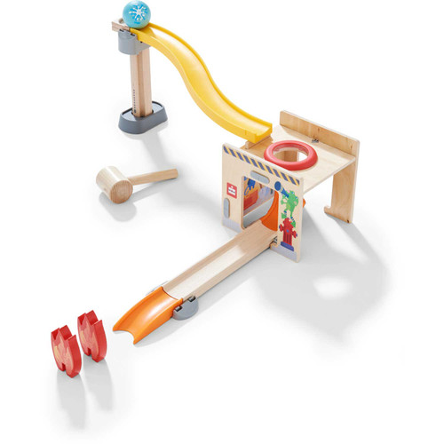 HABA Kullerbu Fire Department Hammer House Accesory Set