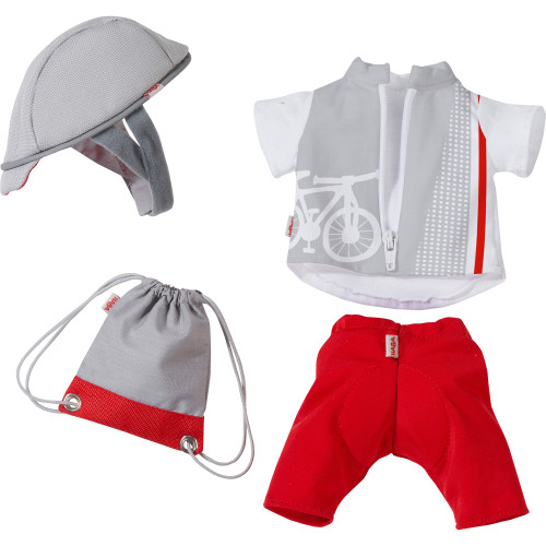 """HABA Bike Time Outfit for 12"""" HABA Soft Dolls"""