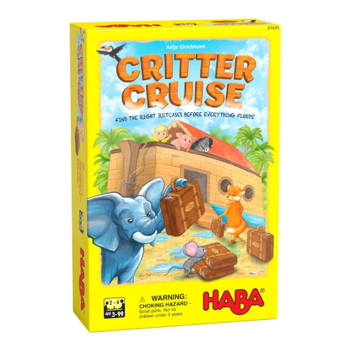HABA Critter Cruise Cooperative Noah's Ark Memory Game (Made in Germany)