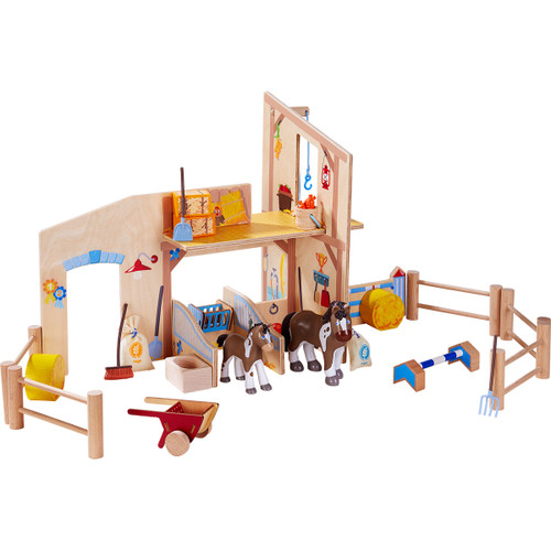 HABA Little Friends Riding Stable