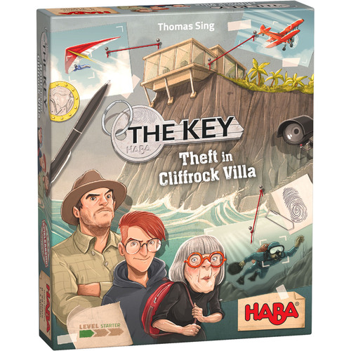 HABA The Key Game: Theft in Cliffrock Villa a Logical Deduction Game