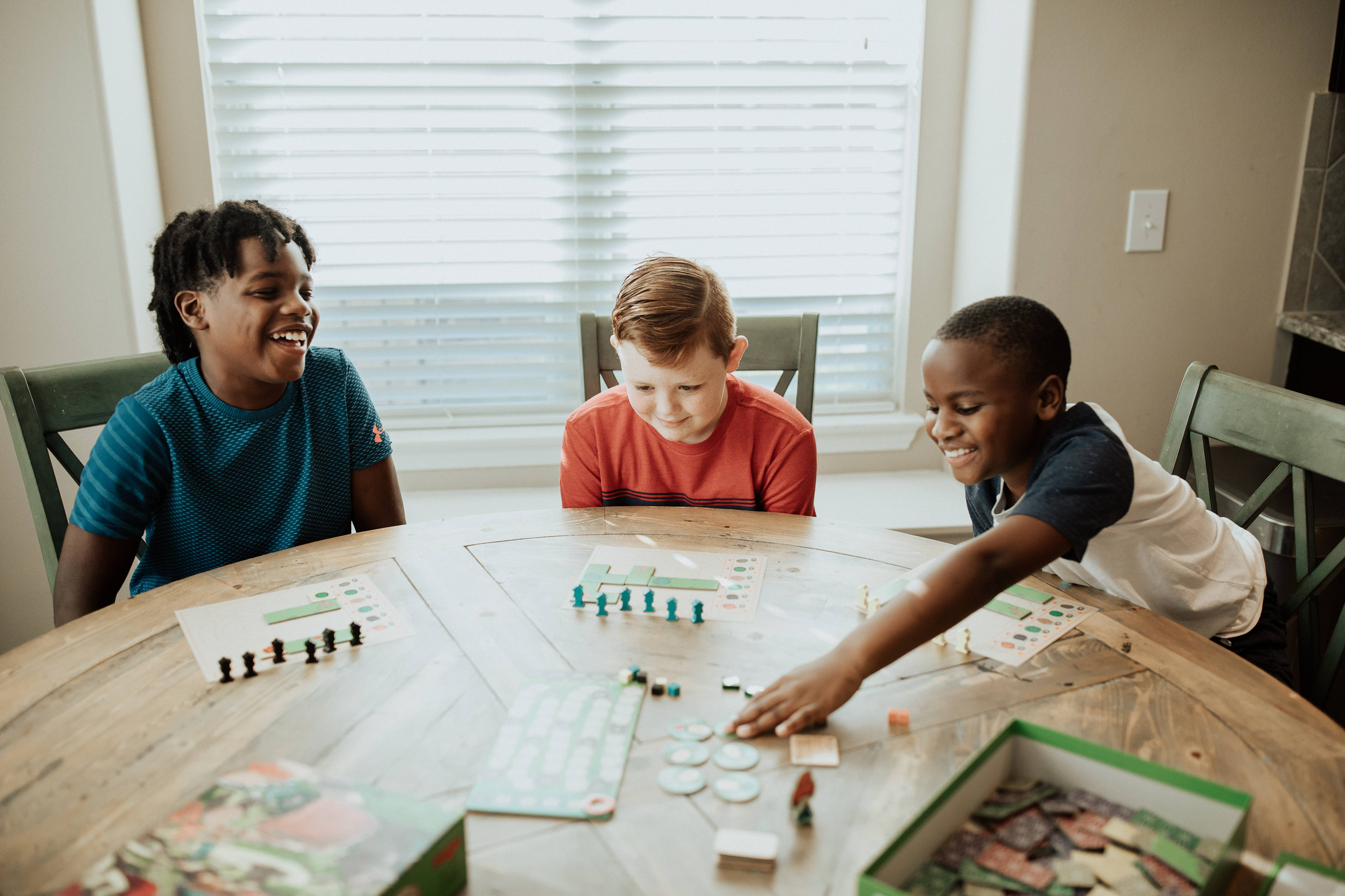 Encourage Cognitive, Social & Emotional Development with Game Play