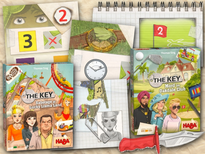 The Key Mystery Game Series Debuting in US at GenCon Spring and GAMA Expo