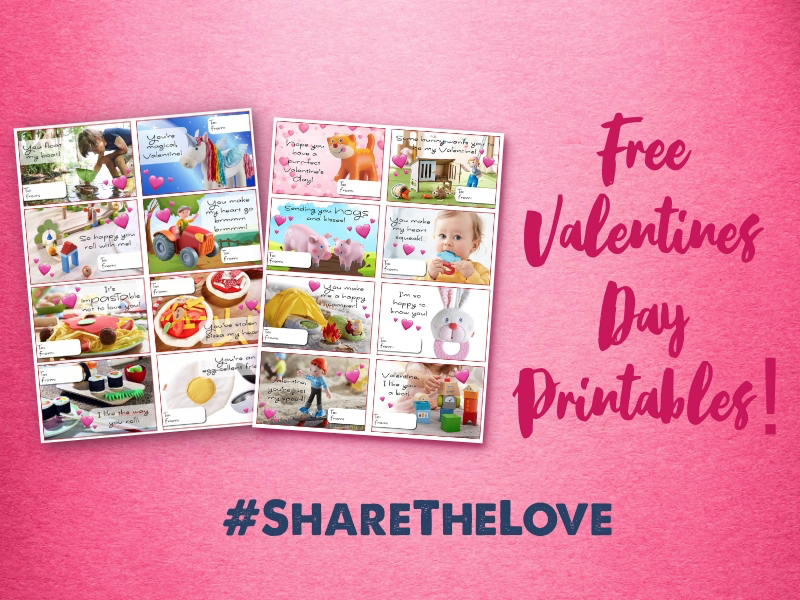 #ShareTheLove with FREE Valentine's Day Printables