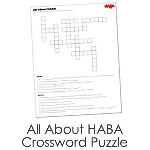 All About HABA Crossword Puzzle